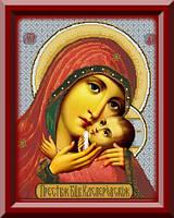 Схема для вышивки Чудотворная Икона Богородицы Касперовская