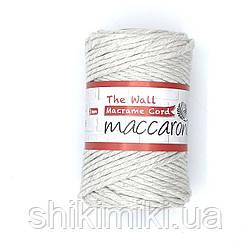 Эко шнур Macrame Cord 3 mm, цвет Лен