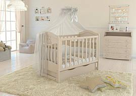 Дитяче ліжечко Angelo Lux-2 Слонова кість
