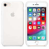 "Чехол Silicone Case (AA) для Apple iPhone 7 / 8 (4.7"") Белый / White"