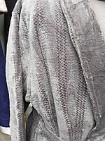 "Теплый домашний мужской халат ""Kiran"" супер-софт"
