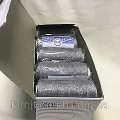 Нитки джинсовые № 36 цвет светло-серый   366