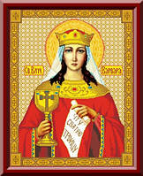 Схема для вышивки Святая Великомученица Варвара
