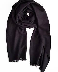 Кашемировый шарф Chadrin с шёлком чёрный