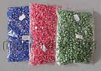Камешки-половинки перл.AB 8мм/2000шт
