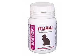 Кормовая добавка VitamAll с пивными дрожжами и чесноком для котов 100 табл/50 г