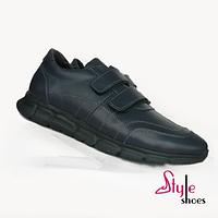 Спортивные мужские кожаные туфли