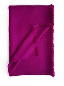 Кашемировый шарф Chadrin с шёлком фуксия