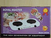 Электроплитка двухконфорочная Royal Master - 2 000 W.