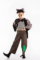 «Кот Базилио»  карнавальный костюм для мальчика на рост 130-140 см
