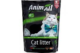 Силикагелевый наполнитель AnimAll Кристаллы изумруда для котов, 5 л (2.1 кг)