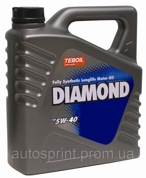 Моторное масло Teboil Diamond SAE 5W-40 4л