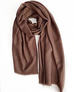 Кашемировый шарф Chadrin с шёлком розовый капучино