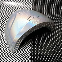 SUN UV LED Лампа Сан Ван 48W профессиональная лампа для сушки ногтей хамелеон серебро