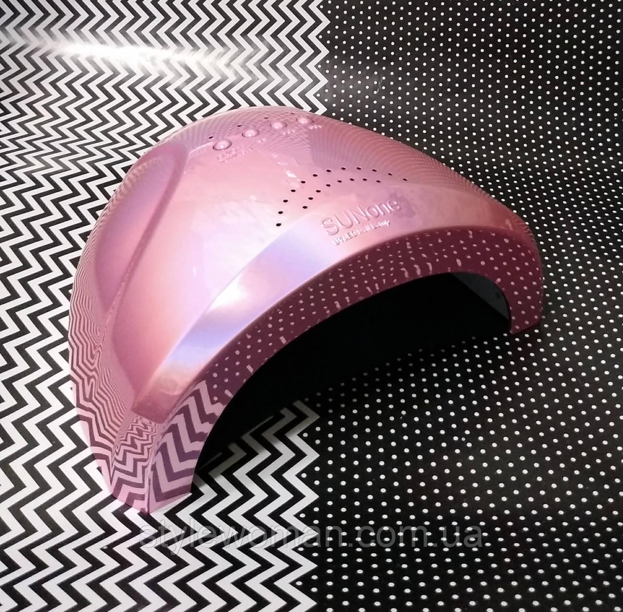 SUN UV LED Лампа Сан Ван 48W профессиональная лампа для сушки ногтей хамелеон розовый жемчуг
