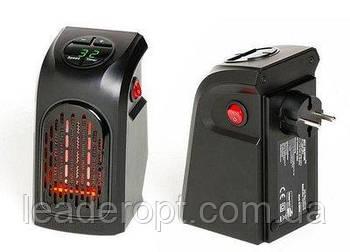 Портативний електричний міні-обігрівач тепловентилятор Handy Heater з пультом управління ОПТ