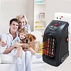 Портативный электрический мини-обогреватель тепловентилятор Handy Heater с пультом управления ОПТ, фото 3