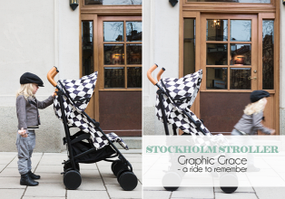 Снова в наличии Stockholm Stroller Graphic Grace от Elodie Details