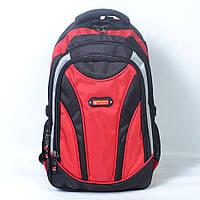 """Отличный качественный рюкзак с отделением для ноутбука 14"""" - Код 924 - красный"""