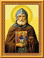 Схема для вышивки Святой Преподобный Александр Свирский