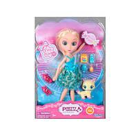 Кукла 83053  24см,  фигурка животн,  аксессуары,  2вида,  в слюде