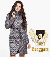 Воздуховик Braggart Angel's Fluff 31030 | Куртка женская зимняя жемчужно-серая, фото 1