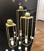 Свадебная колонна 100х30х30 см, тумба-стойка на свадьбу, фото 1