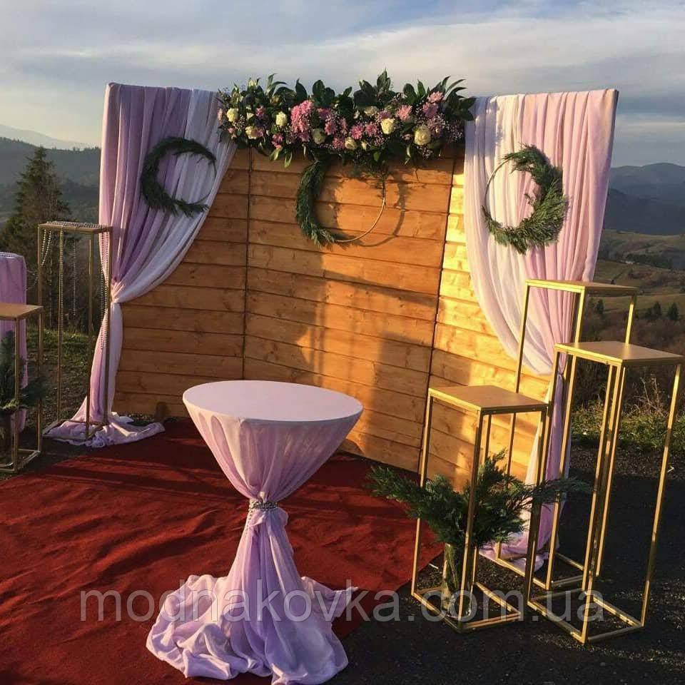Свадебная колонна 80 см, тумба для свадьбы