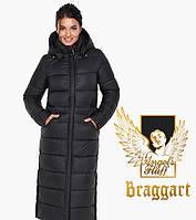 Воздуховик Braggart Angel's Fluff 31007 | Куртка женская зимняя черная, фото 1