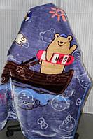 Дитяче велюрове покривало Fashion 110х140 див. Ведмеді
