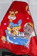 Детское велюровое покрывало Fashion 110х140 см. Сафари