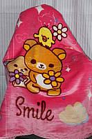 Детское велюровое покрывало Fashion 110х140 см. для девочки