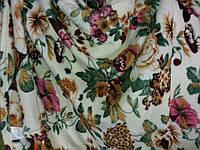Полуторное махровое покрывало Fashion цветы