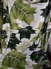 Полуторное махровое покрывало Fashion листья клена