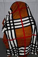 Полуторное махровое покрывало KOLOCO - Клеточка