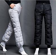 Женские штаны на синтепоне зима 1048 АБ