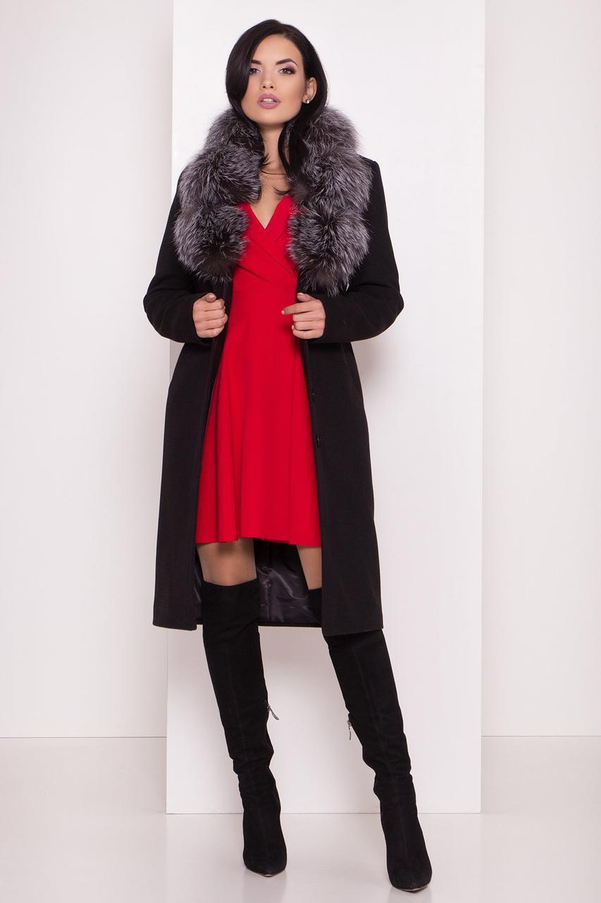 Пальто женское зимнее  Кареро 8125