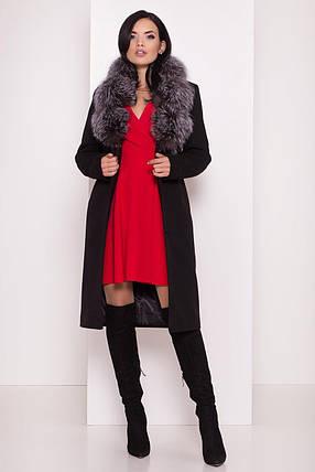 Пальто женское зимнее  Кареро 8125, фото 2