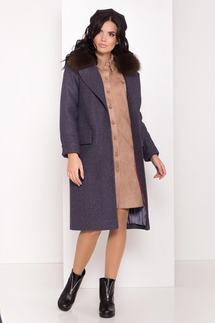 Пальто женское зимнее  Моле 8185
