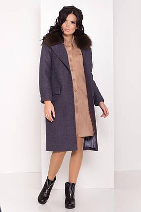 Пальто женское зимнее  Моле 8185, фото 2