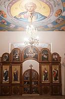Небольшой бюджетный иконостас установлен в г.Полтава