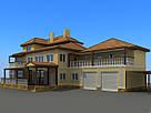 3-d візуалізація фасаду будинку або котеджу, фото 4