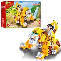 Конструктор BANBAO 6611  Китайский дракон,  фигурка воина,  158дет,  в кор-ке,  23-15-5см