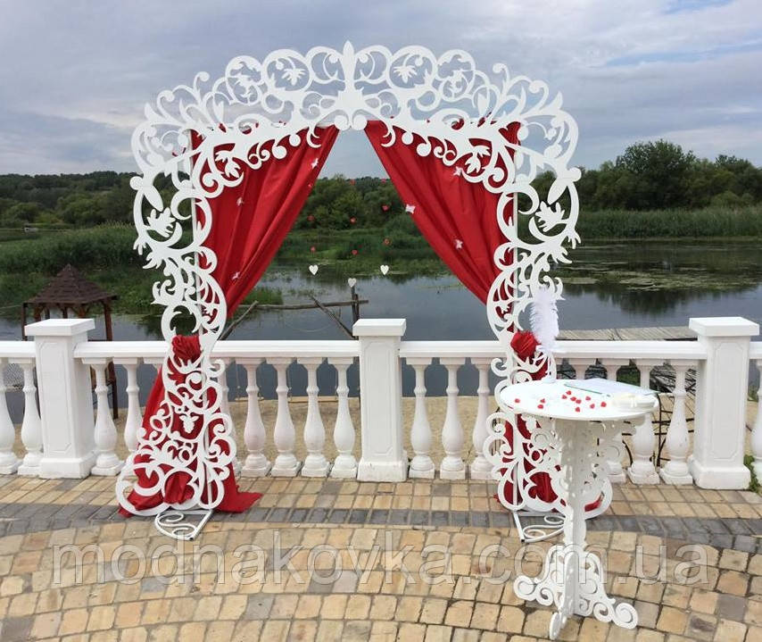 Свадебная арка прямоугольная, каркас свадебной арки разборной