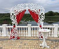 Свадебная арка прямоугольная, каркас свадебной арки разборной, фото 1