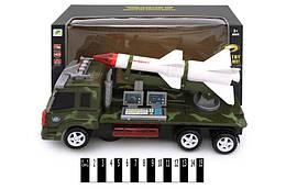Военная музыкальная машина, с ракетой, ZF0888