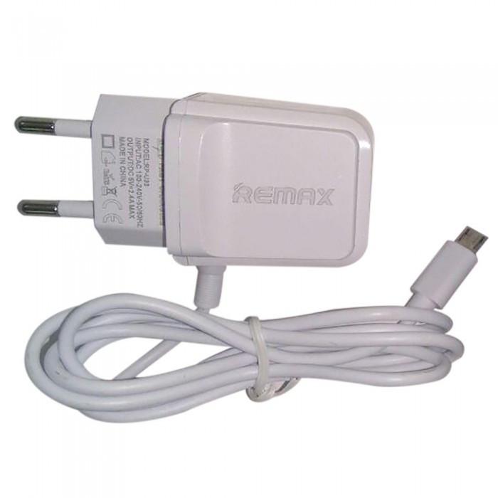 СЗУ адаптер 220V USB Micro USB REMAX RP-U33 БЕЛЫЙ
