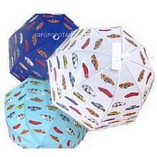 Зонтик с рисунком машинок