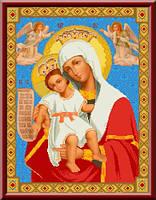 Схема для вышивки Икона Божьей Матери Достойно Есть