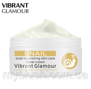 Крем для лица от морщин Vibrant Glamour Snail  Nourishing skin Face Cream 30 g